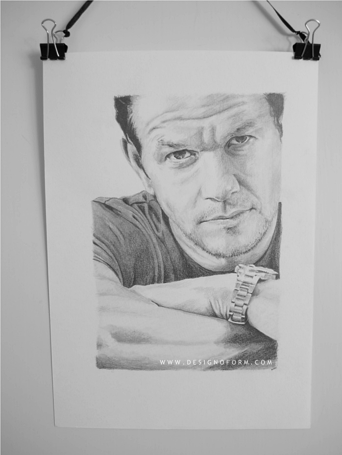 mark wahlberg drawing