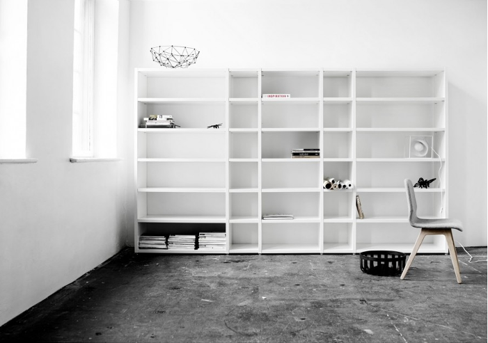 Boconcept Bookcase: DESIGN AND FORM