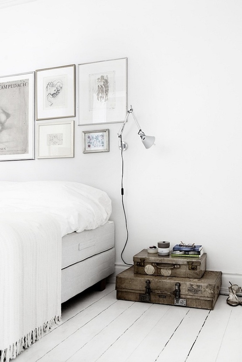 all white bedrooms | DESIGN AND FORM