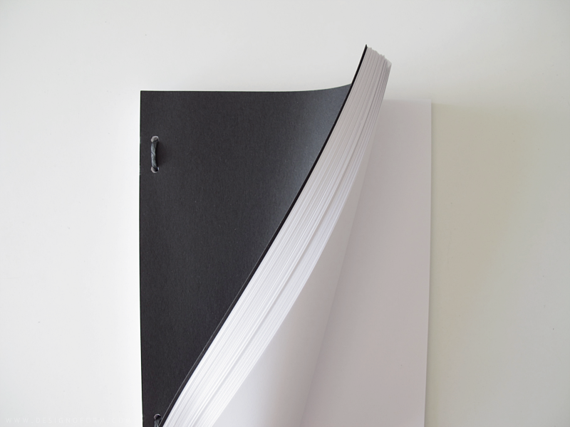 Note book xl design and form for Minimalist architecture book
