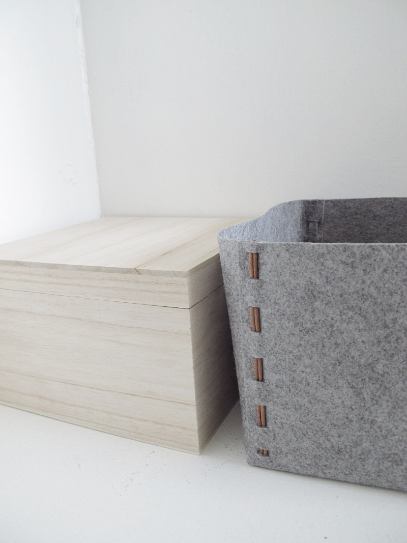 storage box design and form