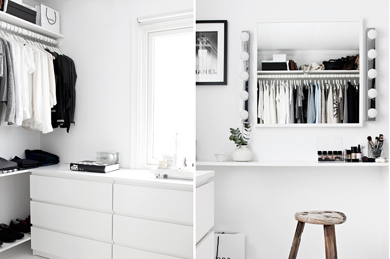 A WALK IN CLOSET ON A BUDGET | DESIGN AND FORM