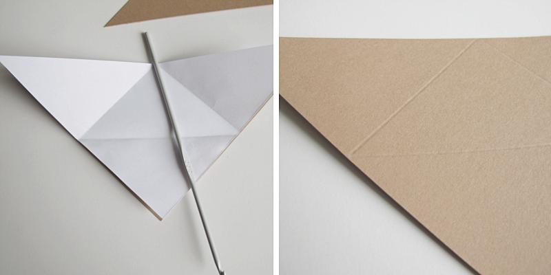 DIY paper dowl