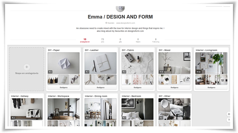Design and form on pinterest