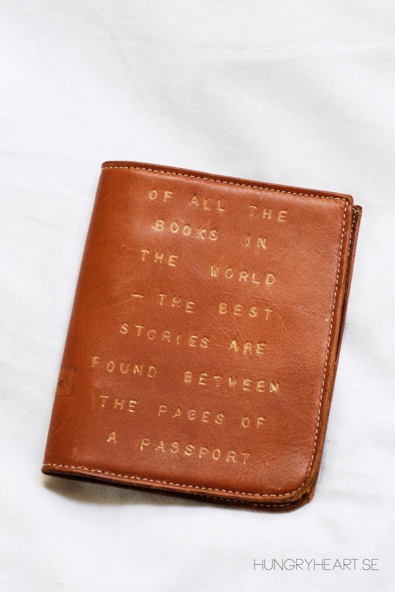 passport cover by hungry heart